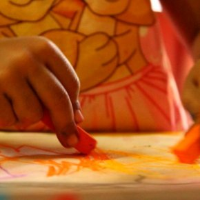 Drawing promotes fine-motor skills, dexterity and control.