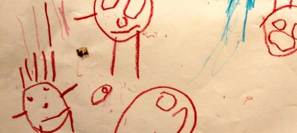 Drawing helps children create a mental-model of the world.